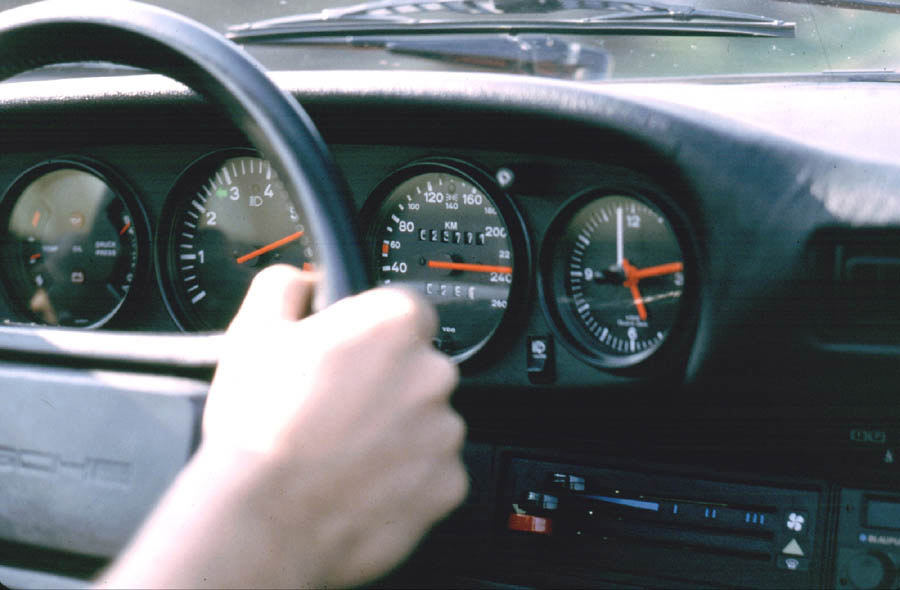 240 kph on the autobahn
